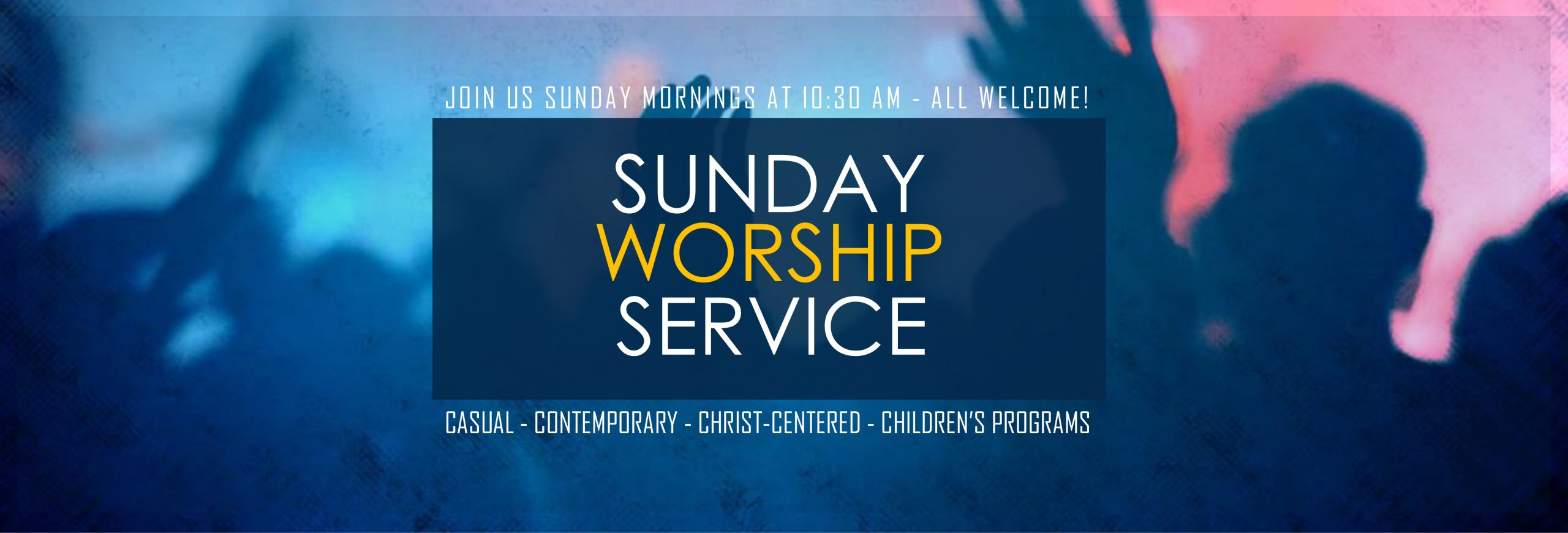 PLEASE NOTE: SUNDAY WORSHIP UNTIL FURTHER NOTICE WILL BE LIVE-STREAM ONLY
